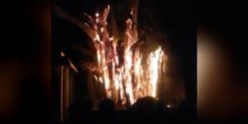 தீ விபத்து திருவாலங்காடு
