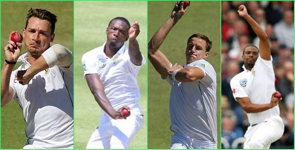South Africa fast bowlers #SAvsIND