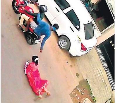 சென்னையை அதிர வைத்த செயின் பறிப்புச் சம்பவம்