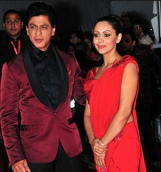 Sharukh in Red