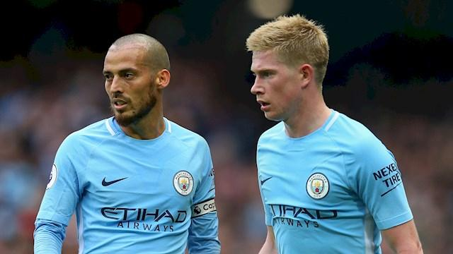 DeBruyne and david silva