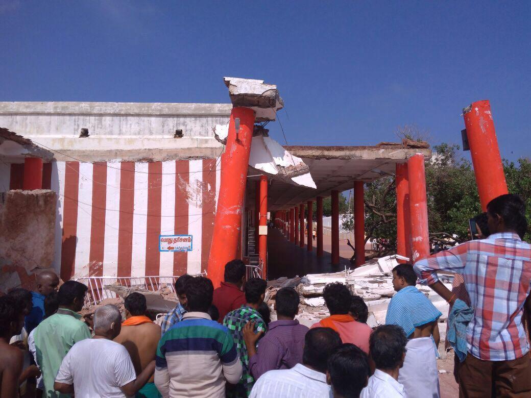 திருச்செந்தூர் பிரகார மண்டபம்