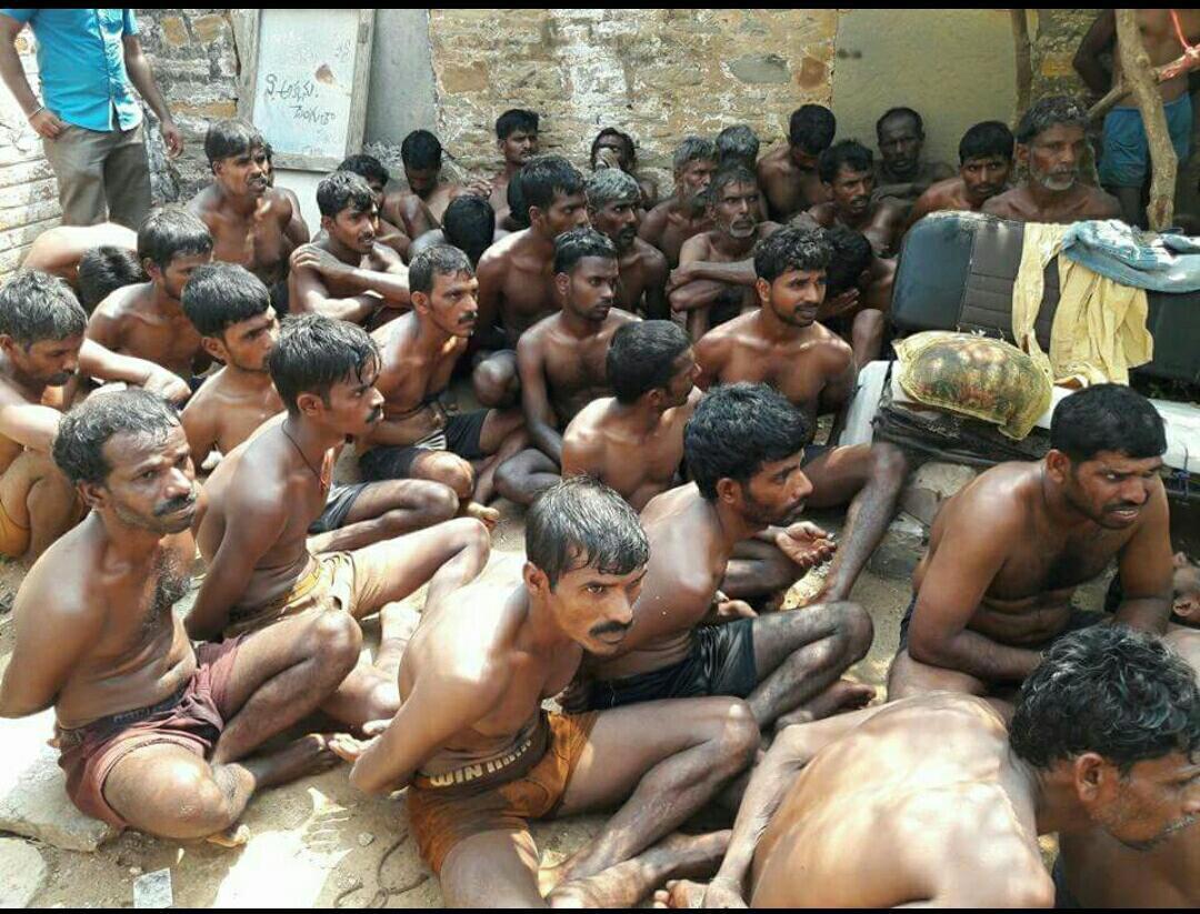 ஆந்திரா போலீஸில் சித்ரவதைப் படும் தமிழர்கள்