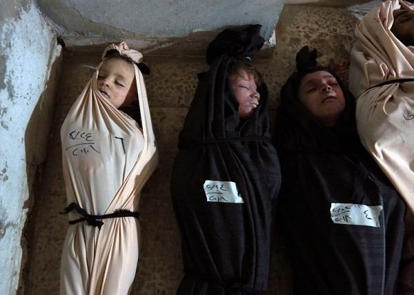 சிரிய போரில் கொல்லப்பட்ட 127 குழந்தைகள்