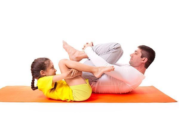 Pavanamukthasanam Yoga
