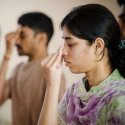 Bhujangasanam, Salabasanam, Pranayamam … Yoga helps towards healthy mind