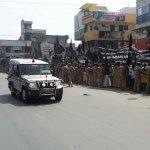 ஆளுநர் பன்வாரிலால் புரோஹித் மீது  கறுப்புக்கொடி வீச்சு!