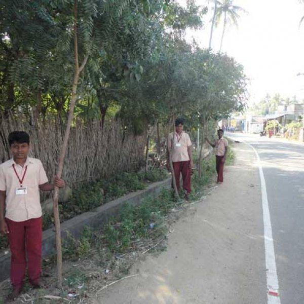 ஸ்மார்ட் க்ளாஸ்ரூம் உள்ளே... இயற்கை தோட்டம் வெளியே... சூப்பர் அரசுப் பள்ளி!