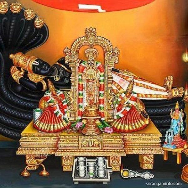 ஸ்ரீரங்கத்தில் பக்தர்களைப் பரவசத்தில் ஆழ்த்தும் கருட சேவை! - மாசி தெப்போற்சவம் #Srirangam