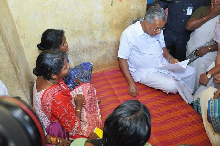 மது- பினராயி விஜயன்
