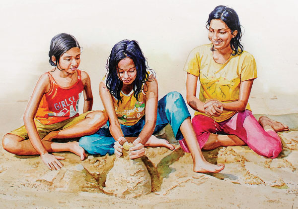 ஓவியம்: எஸ்.ஏ.வி இளையபாரதி