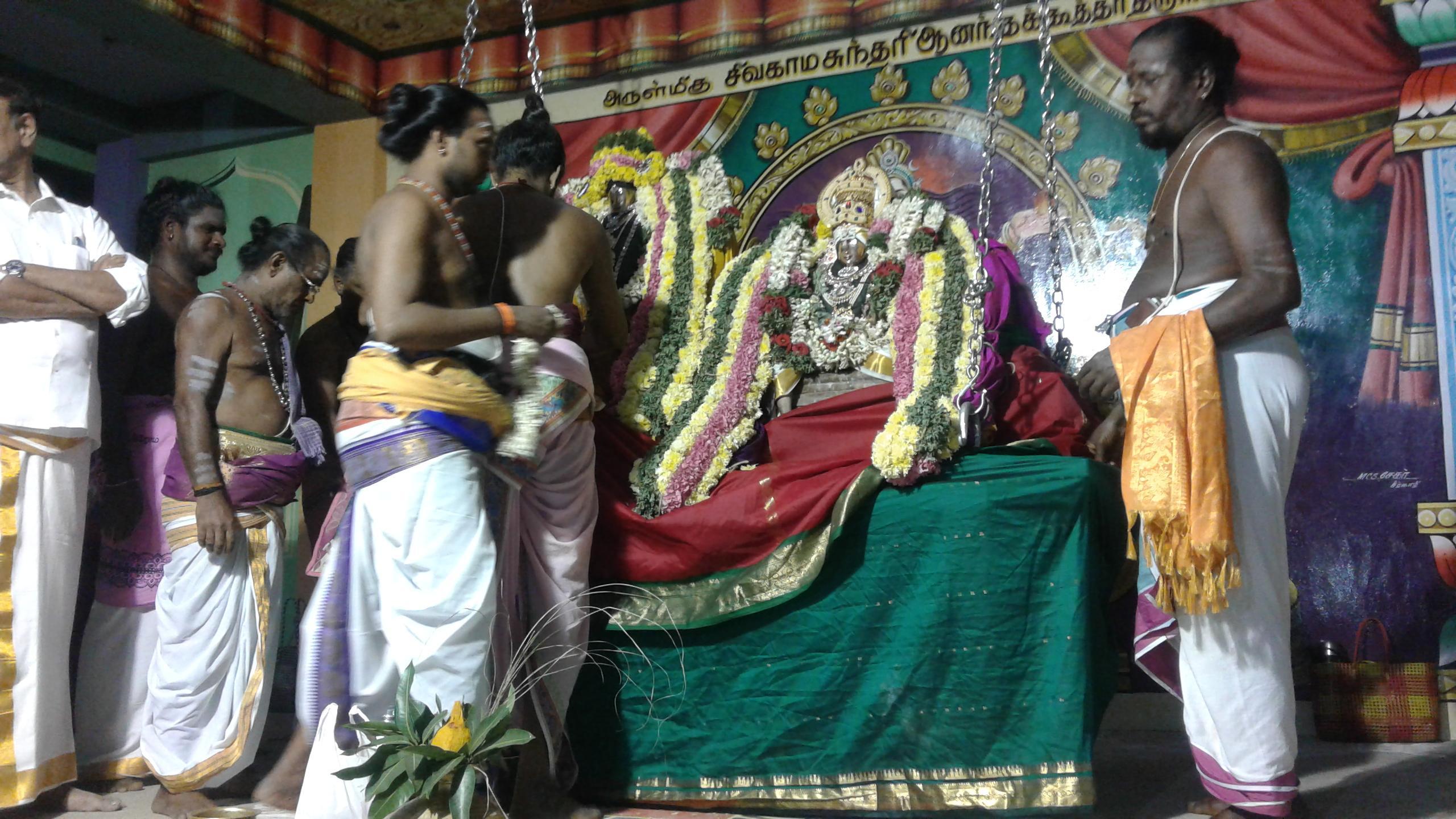 சுவேதாரண்யேசுவரர்-பிரம்மவித்யாம்பாள்