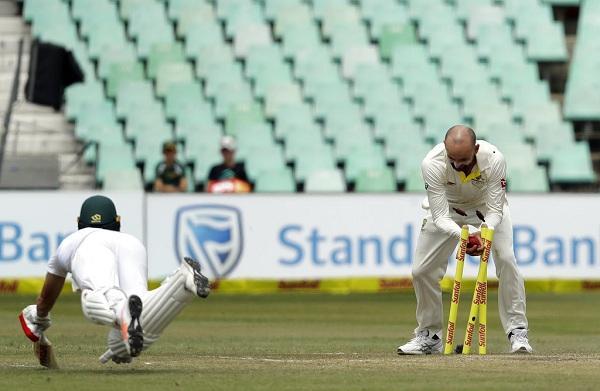 A B de Villiers run out