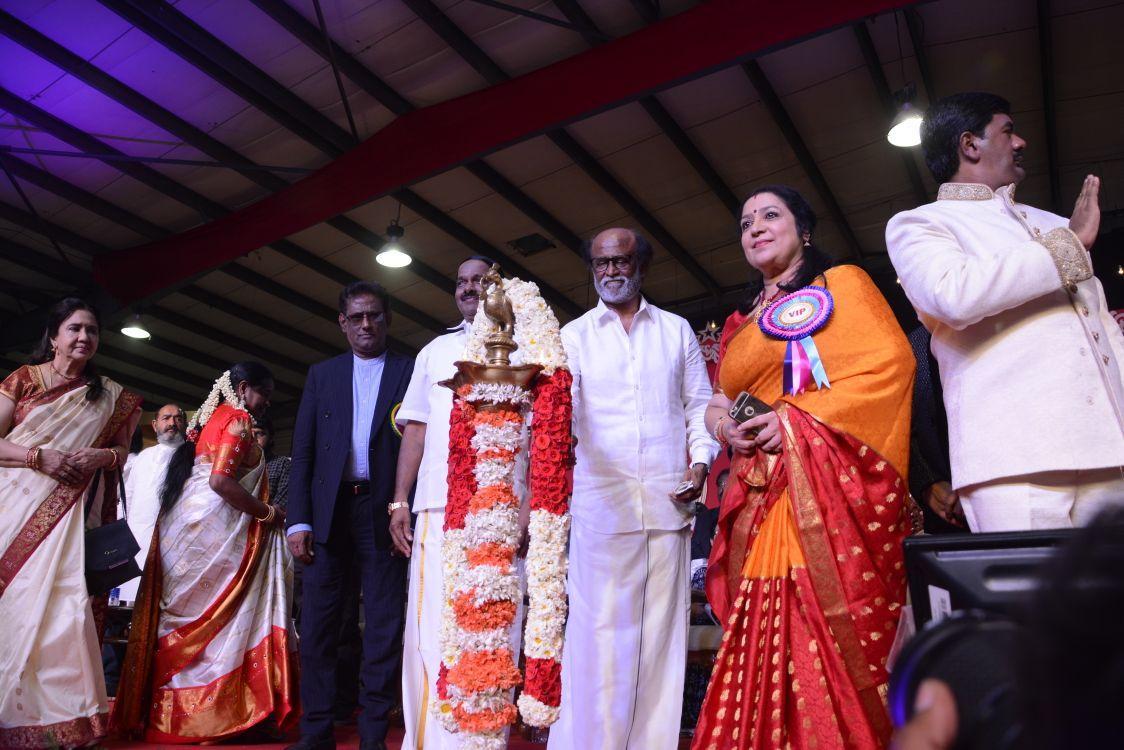 ரஜினி - எம்.ஜி.ஆர். சிலை திறப்பு விழா