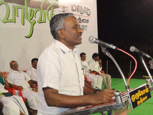 மக்கள் அதிகாரம் மாநில ஒருங்கிணைப்பாளர் ராஜு