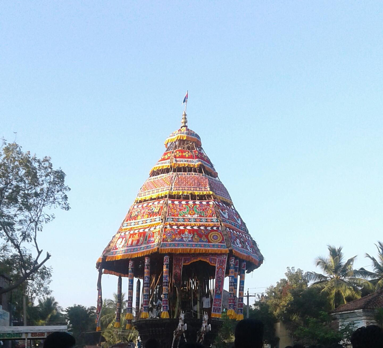 சுவேதாரண்யேசுவரர் தேர்
