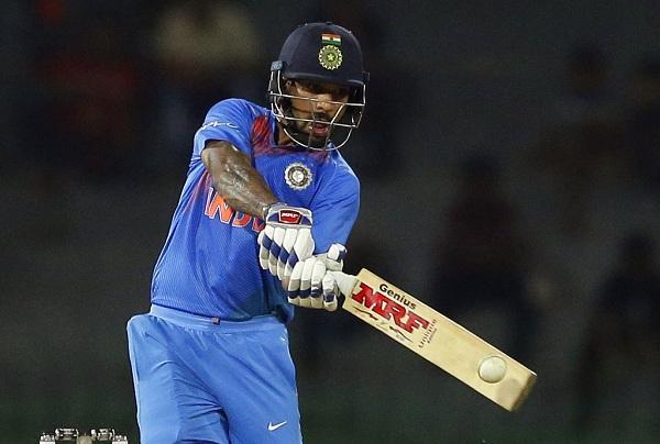தவான் - #INDvBAN
