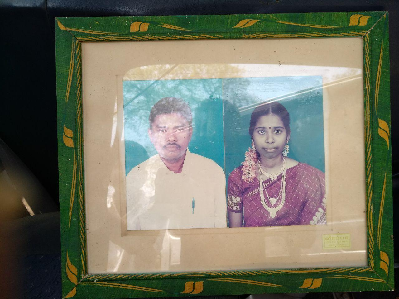 நடேசன் - நிர்மலா தம்பதியினர்