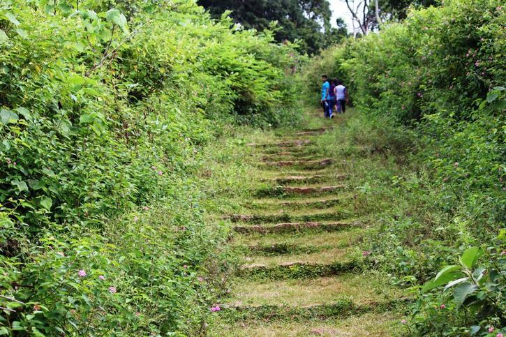 trekking in swami malai