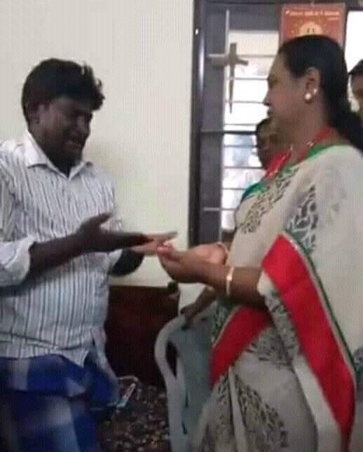 உஷா கணவர் ராஜாவை சந்தித்த பிரேமலதா