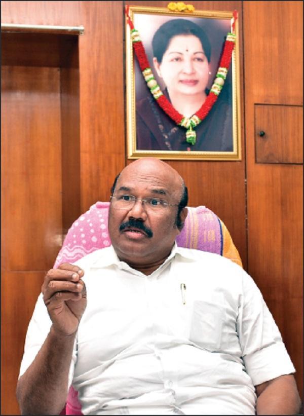 அமைச்சர் ஜெயக்குமார்