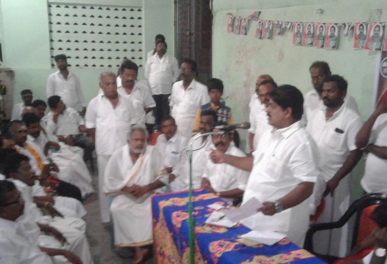 ராமேஸ்வரத்தில் அமைச்சர் மணிகண்டன் பேச்சால் அதிகாரிகள் கலக்கம்.