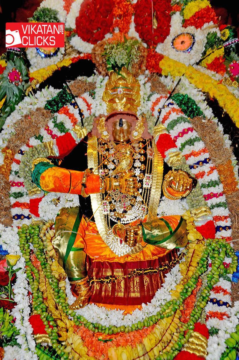 சமயபுரம் மாரியம்மன் பட்டினி விரதம்