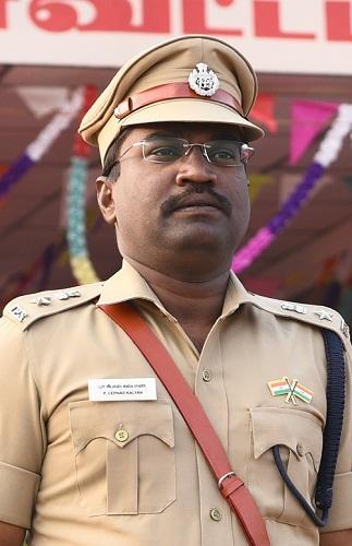 திருச்சி எஸ்.பி செபாஸ் கல்யாண்
