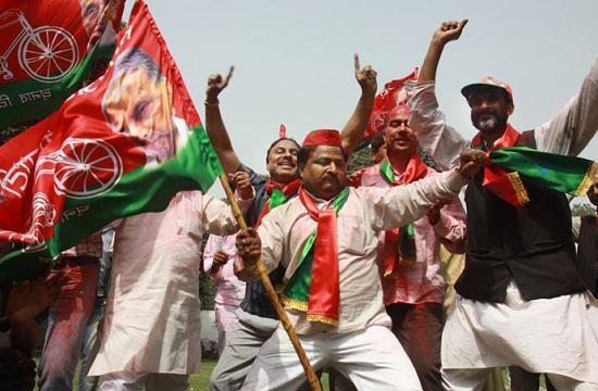 சமாஜ்வாடி கொண்டாட்டம், உத்தரப்பிரதேசம்