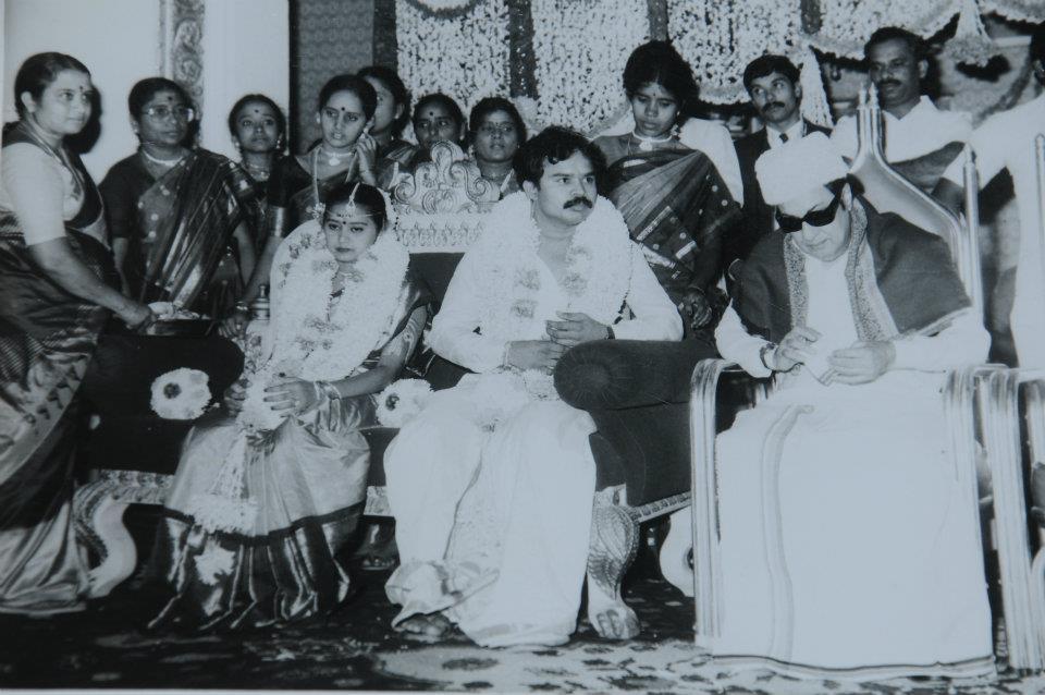 கே.சி.பழனிசாமி கல்யாணத்தில் எம்.ஜி.ஆர்