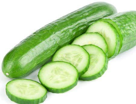 cucumber beat the summer