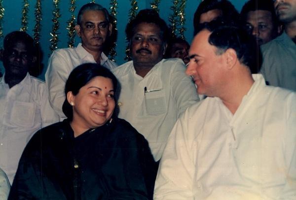ஜெயலலிதா ராஜிவ்காந்தி