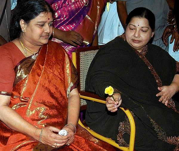 சசிகலா மற்றும் ஜெயலலிதா