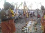 பூம்புகாரில் சப்தகன்னியர்களுக்கு பொங்கல் படையலுடன்  மாசி மகத் திருவிழா!