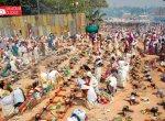 `பெண்களின் சபரிமலை' ஆற்றுக்கால் பகவதியம்மன் கோயிலில் களைகட்டிய பொங்கல் விழா! #VikatanPhotoStory