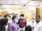 குரங்கணி காட்டுத்தீ : மீட்கப்பட்ட 15 பேருக்கு மதுரையில் சிறப்பு சிகிச்சை