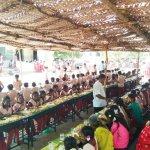 பொதுத்தேர்வு எழுதப்போகும் மாணவர்களுக்கு விருந்து வைத்து அசத்திய அரசுப் பள்ளி