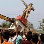 லெனின் சிலை அகற்றம்..! திரிபுரா அரசியலில் அதிரடி