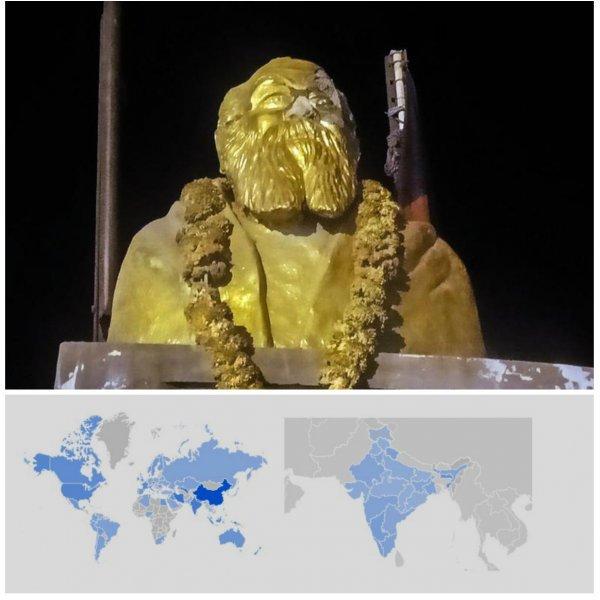 6 கண்டங்கள்... 123 நாடுகள்... பெரியார் சிலை தாக்குதலுக்கு இணையத்தின் ரியாக்ஷ்ன்! #GoogleTrends