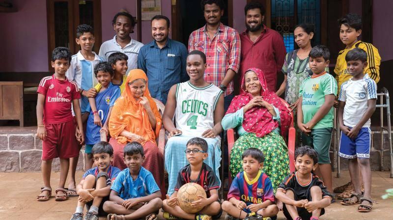 சுடானி ஃப்ரம் நைஜீரியா படத்தில் ஒரு காட்சி