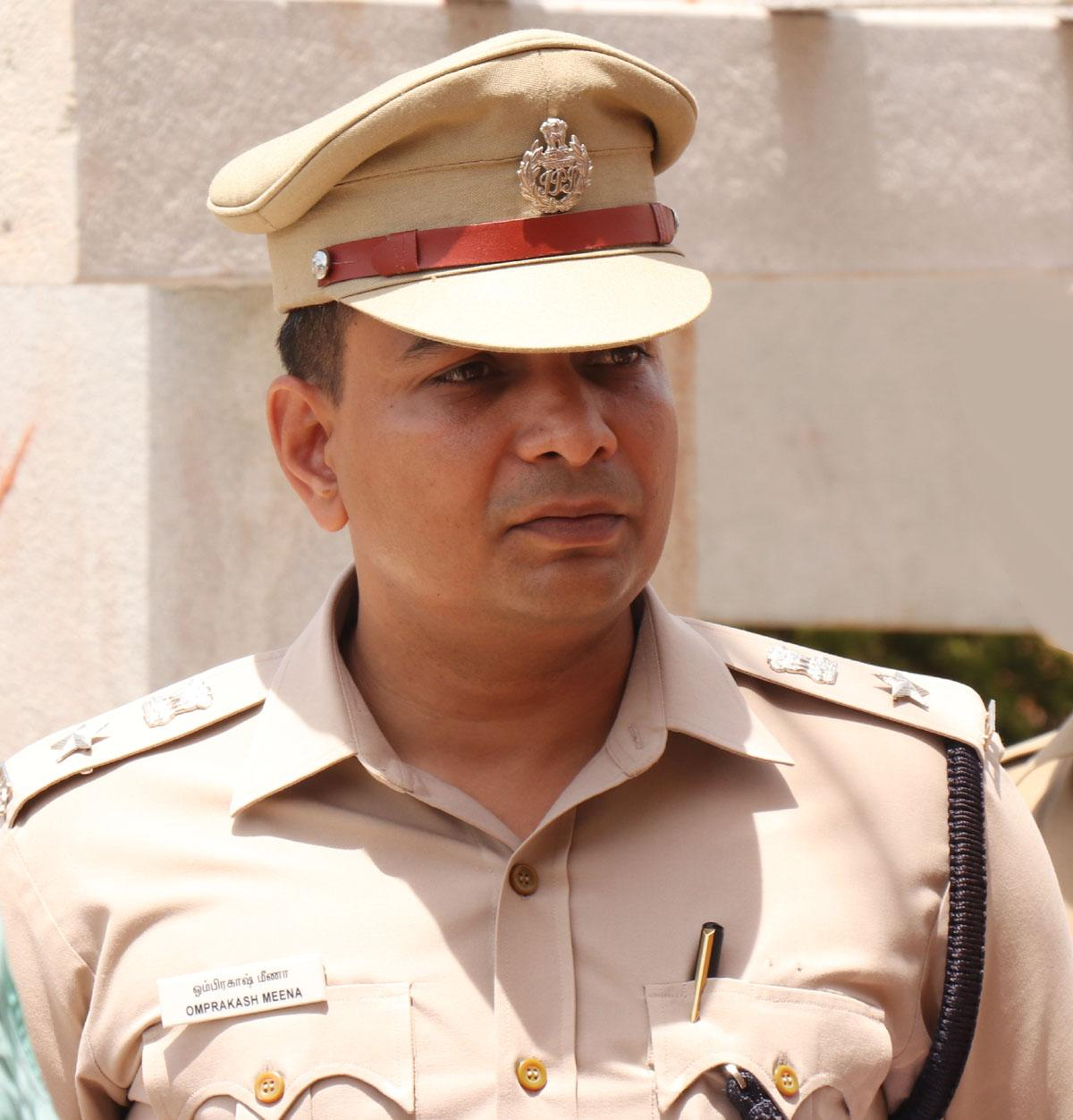 ராமநாதபுரம் காவல் கண்காணிப்பாளர் ஓம்பிரகாஷ் மீனா