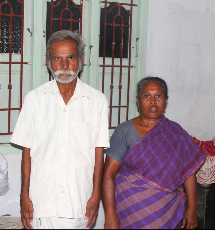 மேலூர் தம்பதி கதிரேசன் - மீனாட்சி