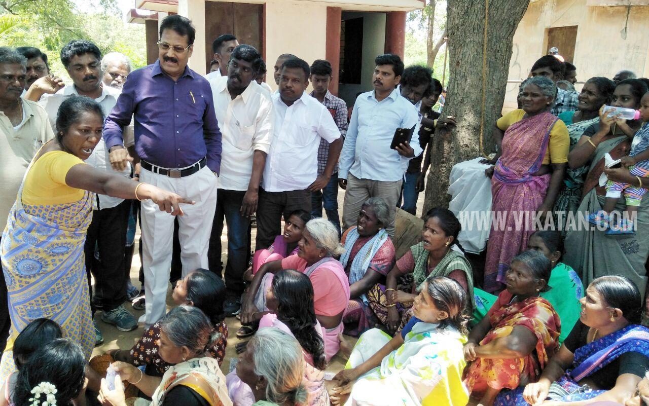 Krishnasamy meet to people