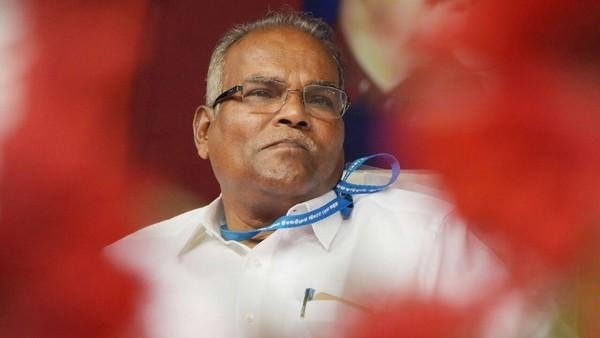 சி.பி.எம். மாநிலச் செயலாளர் கே.பாலகிருஷ்ணன்