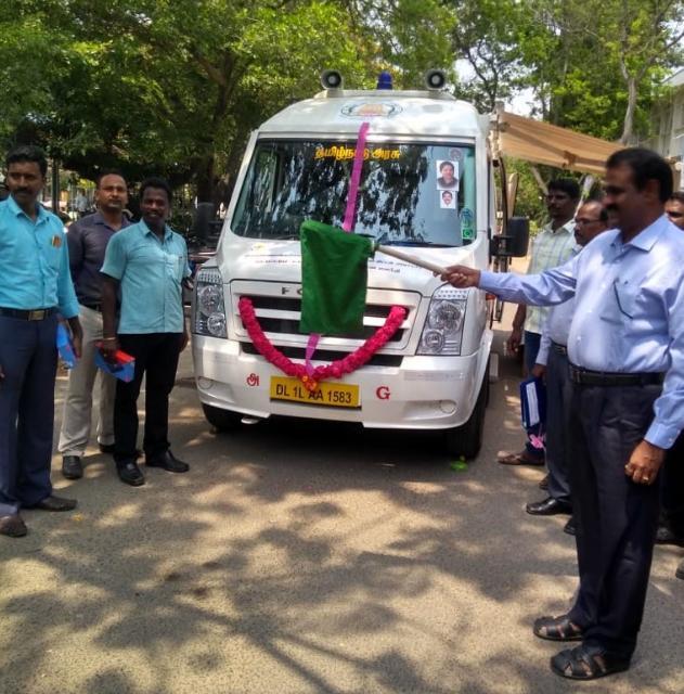 கிருஷ்ணகிரி மாவட்டத்தில் தொடங்கப்பட்ட நடமாடும் ஆய்வுக்கூடம்