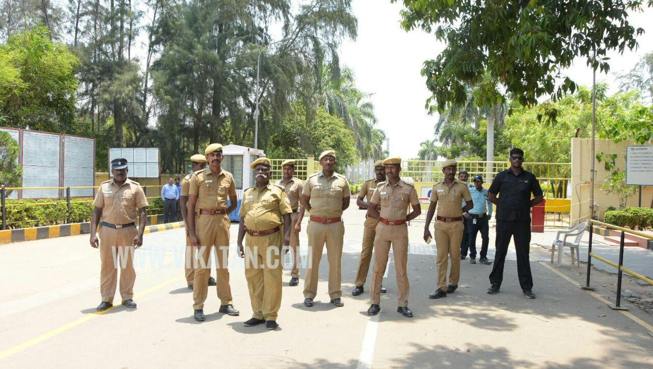 police protection of sterlite industry