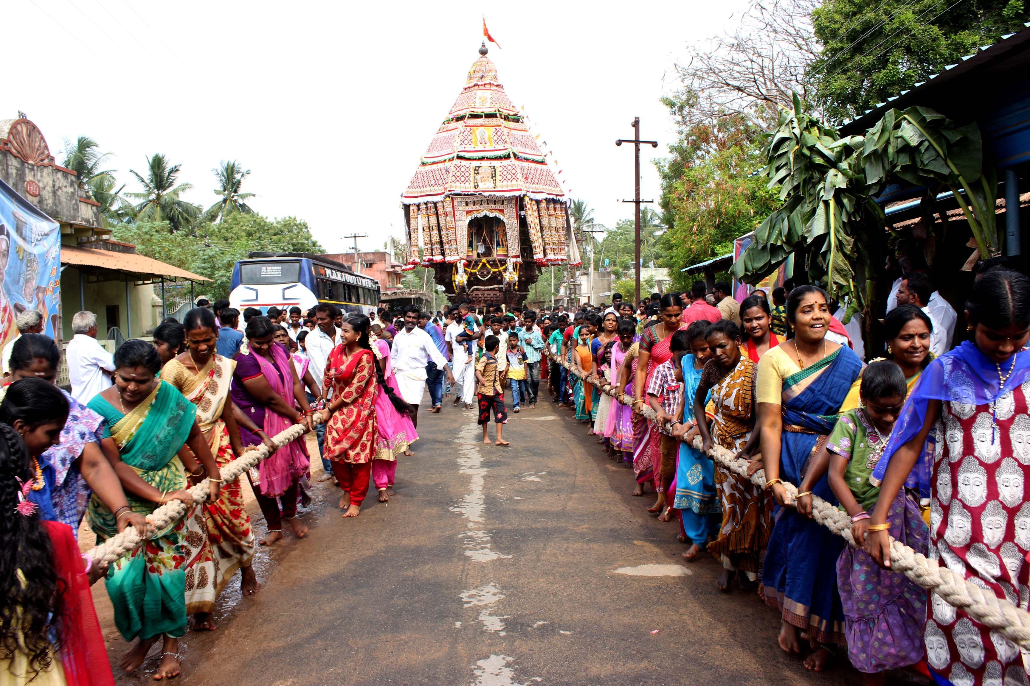 திருக்கடையூர்  தேரோட்டம்