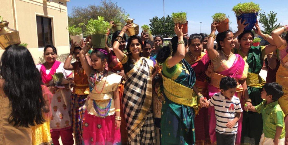 முளைப்பாரி, கும்மி, கபடி... அமெரிக்கா, டல்லாஸில் களைகட்டிய சித்திரைத் திருவிழா!