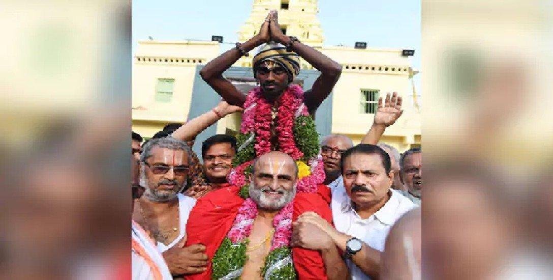 ஹனுமன் வாசலில் அனுமதி மறுப்பு... பாலாஜி கோயிலில் ராஜமரியாதை!