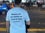 `இந்தியாவில் பசுக்களுக்கு இருக்கும் மதிப்புகூட பெண்களுக்கு இல்லை!'- துருக்கியில் கவனம் ஈர்த்த போராட்டம்